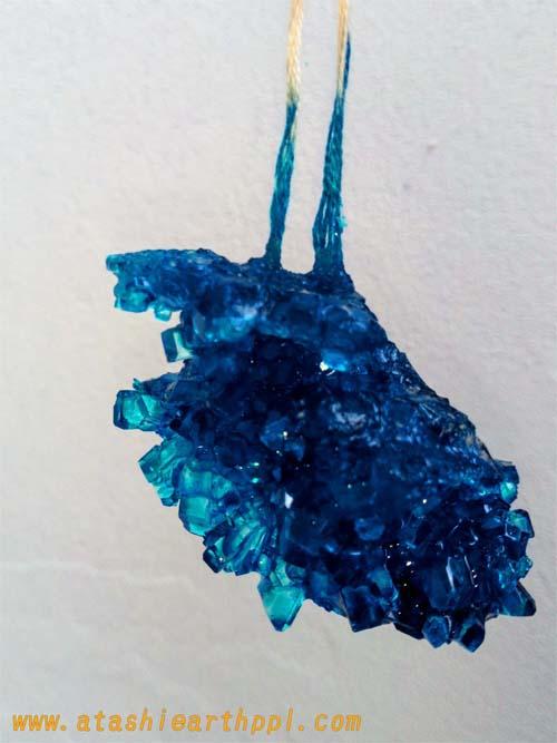 砂糖の結晶作り結果画像1
