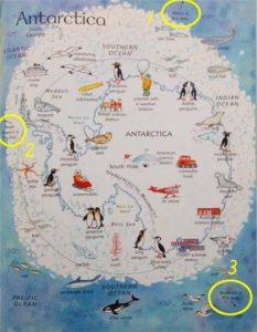 USBORNE Picuture Atlas 南極大陸
