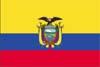 南米エクアドル国旗