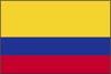 南米コロンビア国旗