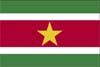 南米スリナム国旗