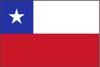 南米チリ国旗