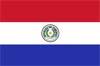 南米パラグアイ国旗