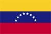南米ベネズエラ国旗