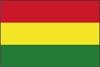南米ボリビア国旗